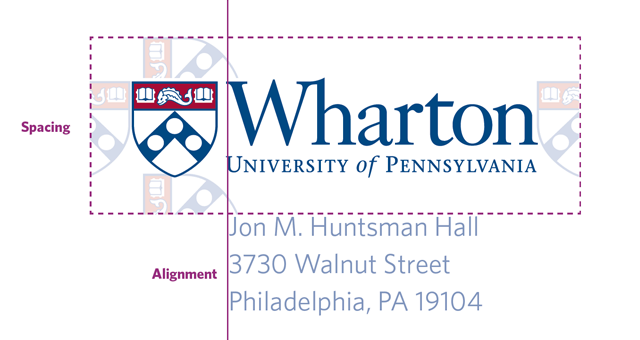 Wharton Logo Space Alignment